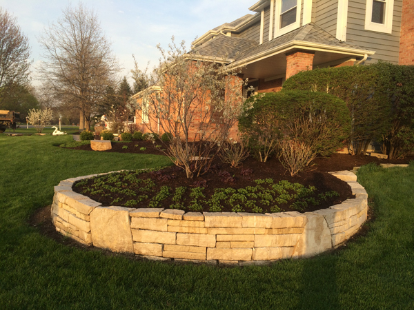Landscape Architect Retaining Wall : Retaining wall gallery conrades landscape design