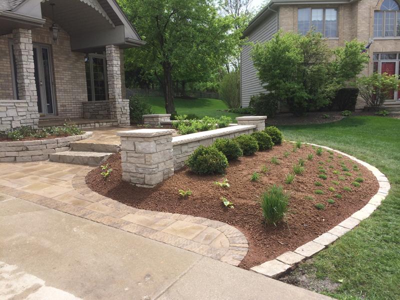 Custom Paver Entryways Conrades Landscape Design