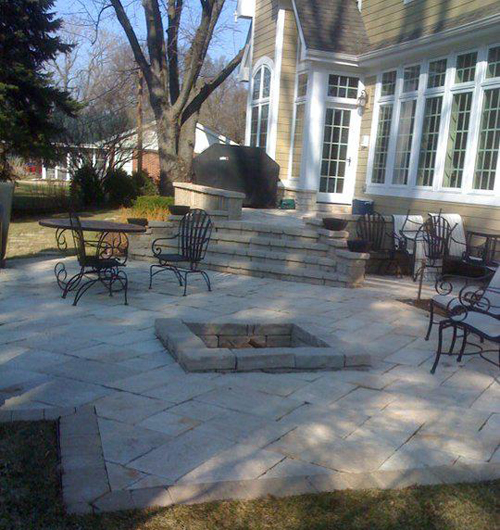Custom Paver Patio Elmhurst-1