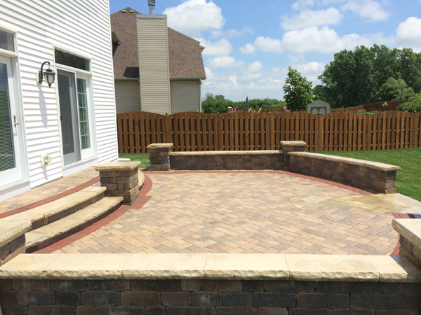 Back Yard Paver Patio
