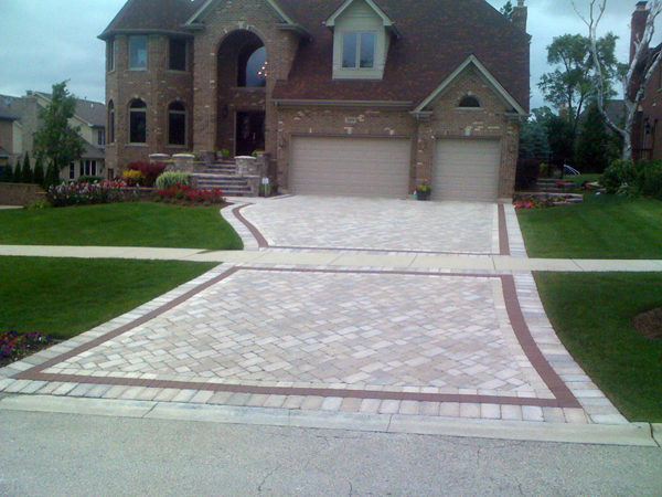 Custom Paver Driveways