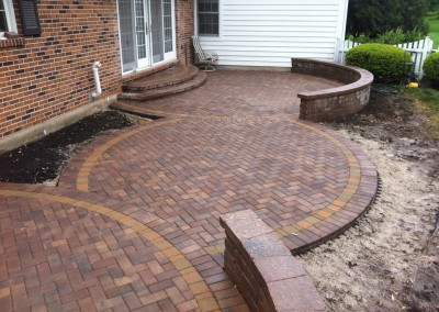 Circular Symmetric Paver Patio