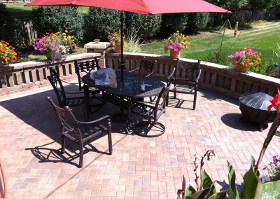 Custom Brick Paver Patio