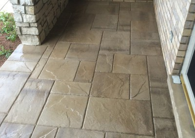 Natural Stone Paver Patio