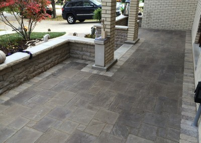 Paver Patio Porch