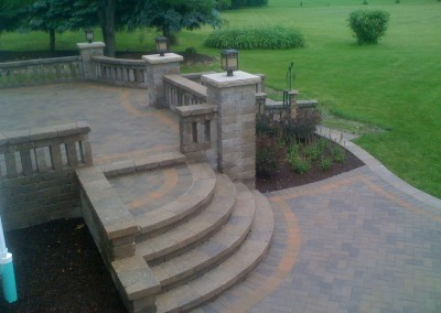 Tiered Paver Patio