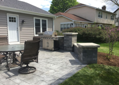New Paver Patio Project 2017